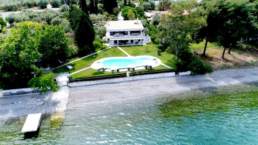 VILLA AGIOS - Private Waterfront Family Luxury