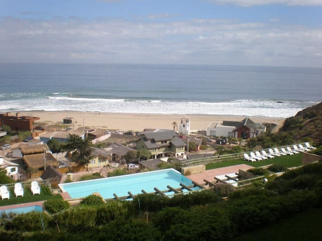 Cachagua, beachfront apartment - Zapallar - Pis