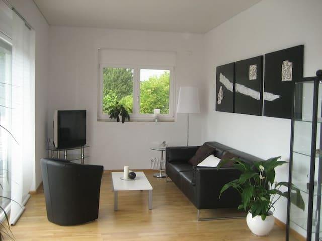 900 m to switzerland, comfortable 1 - Hégenheim - Apartament