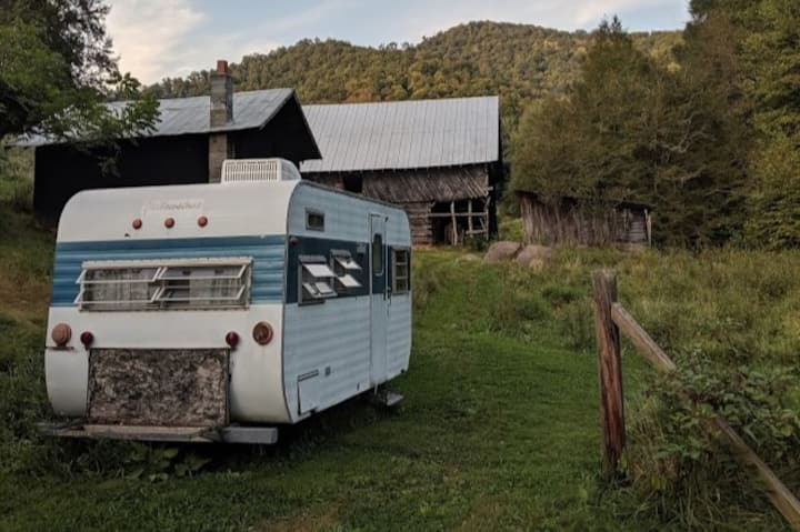 Sunny Truth Farm Vintage Camper