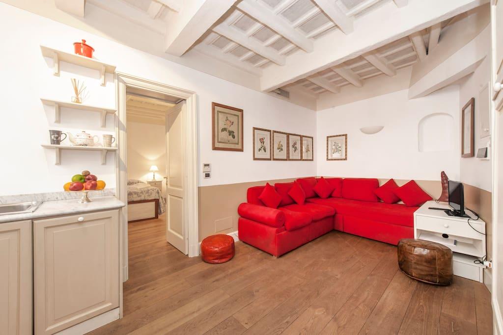Trastevere prestige appartamenti in affitto a roma for Affitto uffici roma trastevere