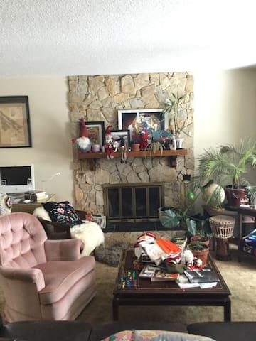 Artistic family home