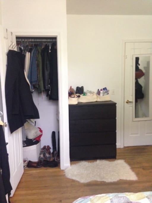 Closet & chest of drawers