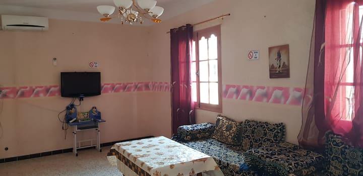 location maison équipée ramla ghazaouet 0651504087