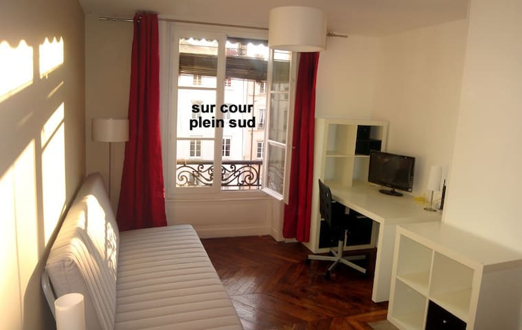 Calm and sunny Studio at Bellecour - Lyon - Wohnung
