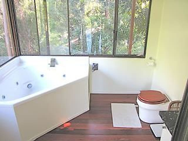 Rainforest Sanctuary - Rosebank - Cabin