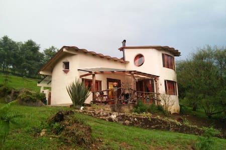 Cabaña de campo en Xico Veracruz - Mökki