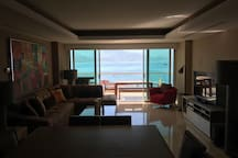 Luxury beachfront condo with stunning views.