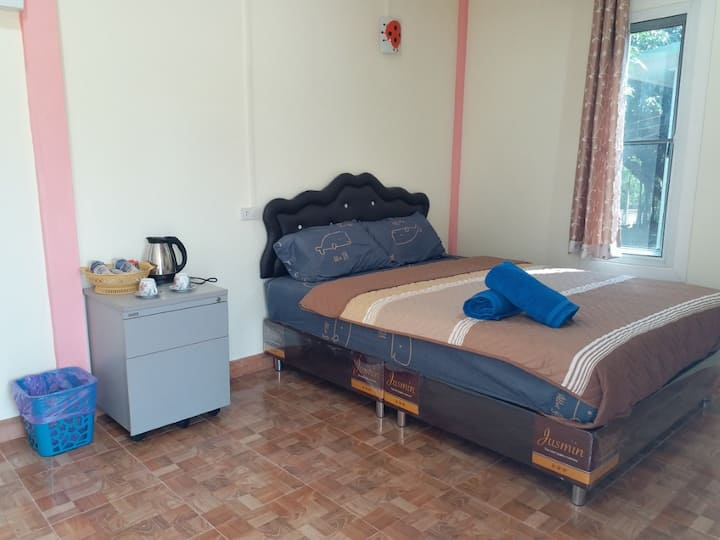 Comfy Double Room at Baan Hin Sai Suay