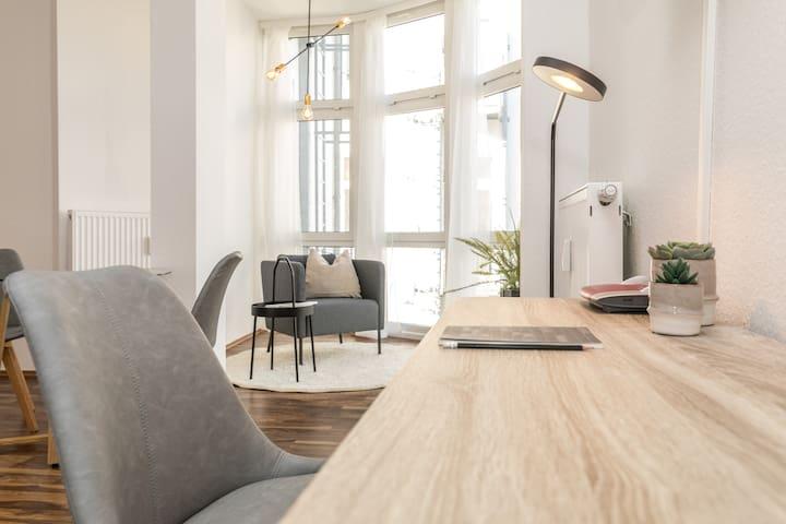 Apartment in skandinavischen Stil