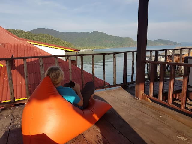 BB Stilt house - Tambon Koh Chang Tai - Casa