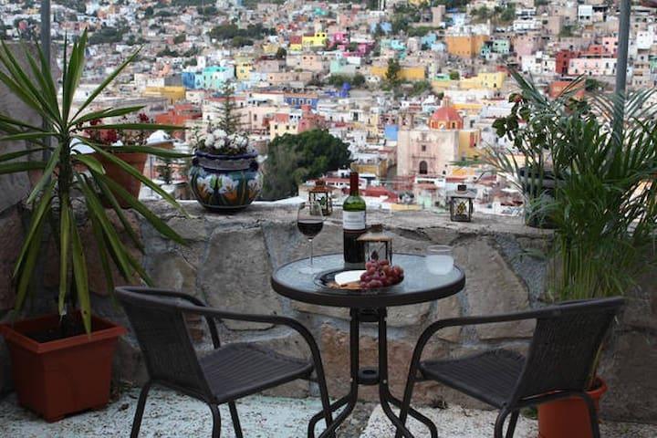 2 bed 2 bath Apt with spectacular panoramic views - Guanajuato - Apartamento
