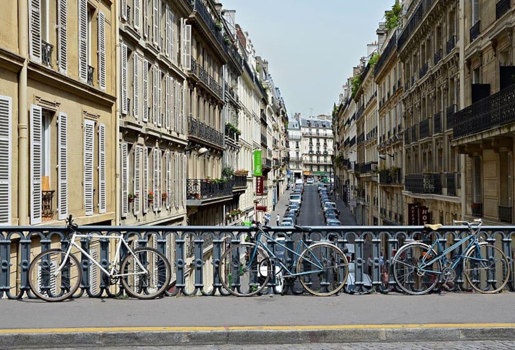 Pont rue Pierre Sémard, 30 mt