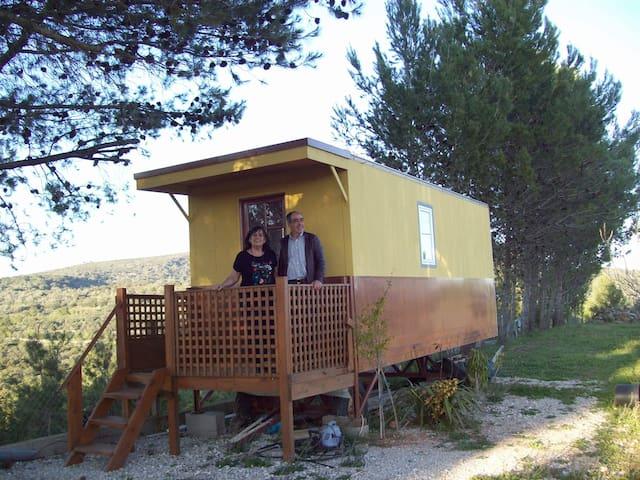 "Roulotte ""La Bohème"" - Benafim - Bungalow"