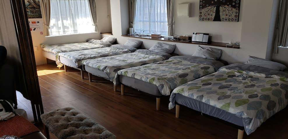 寝心地の良いベッド Nice beds