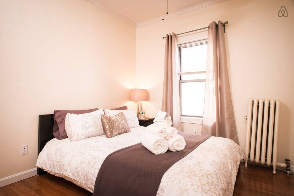 We are very proud of this beautiful bedroom and it's all yours!