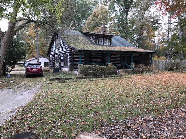 Log Cabin at Pinecroft