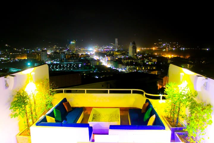 The Dream View - Luxury Pool Penthouse - Patong - Casa