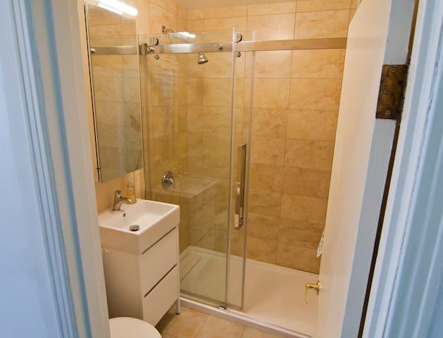 Your private bathroom, 1st floor,  entrance via hallway