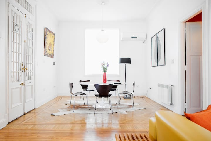 Stylish 3BR in historic building - Buenos Aires - Pis