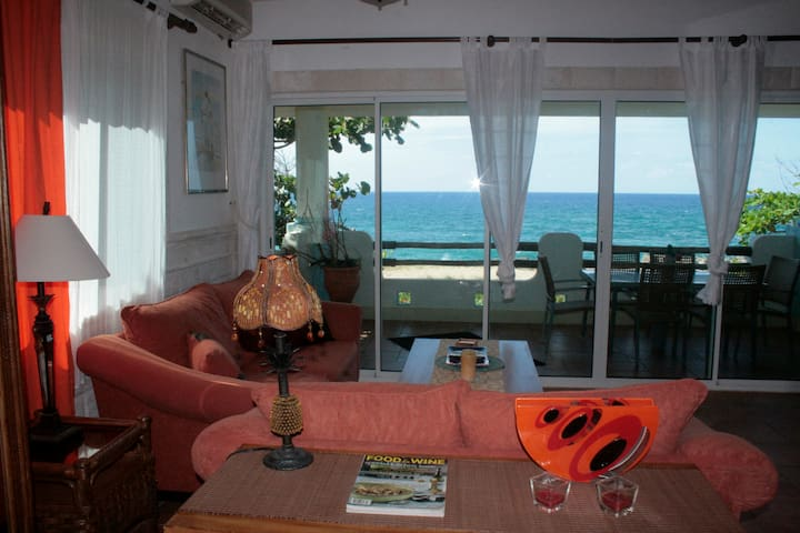 Private Charming Oceanfront Unit - Sosua - Byt