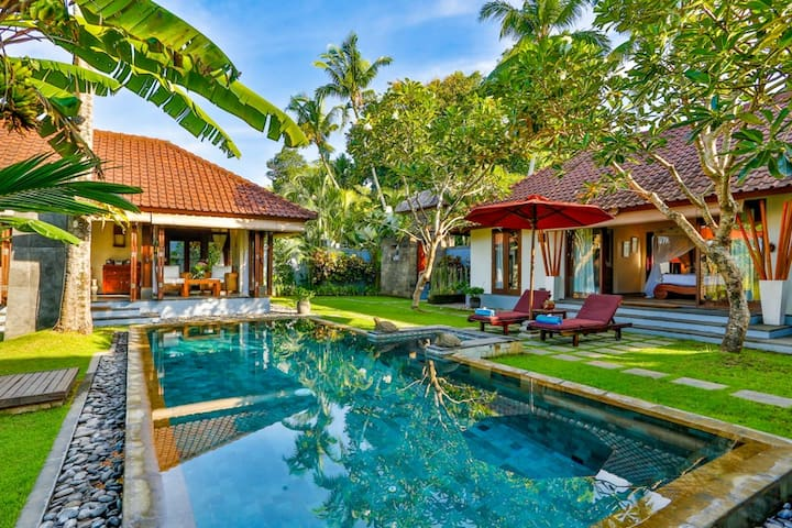 Great Value, 1 Bedroom Private Bali Pool Villa - Tabanan - Vila