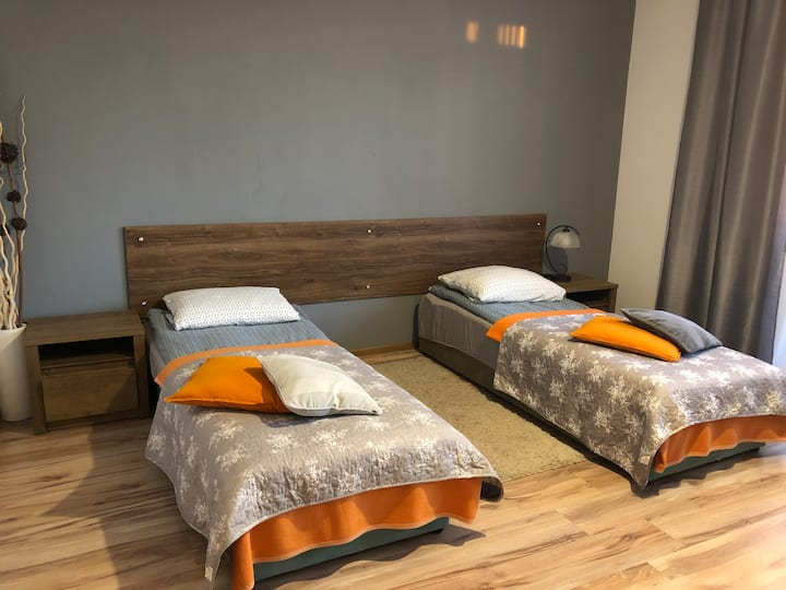 Wołowice: czyste, duże i komfortowe pokoje