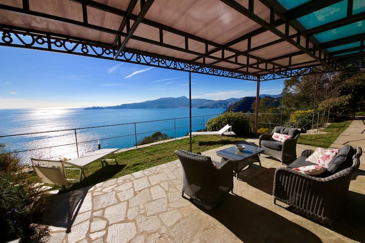 SUITE DOLCEVITA 1BR-patio&garden&view by KlabHouse - Zoagli