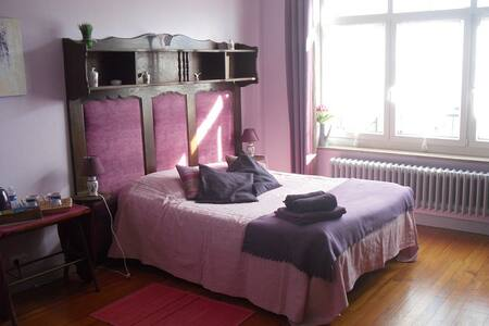 chambre paradisier - Boulogne-sur-Mer - Bed & Breakfast