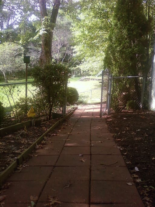 Private pathway