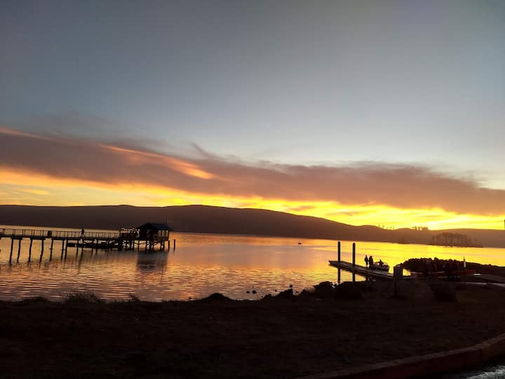 Sunset on Tomales Bay