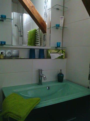 Ein eigenes modernes Bad