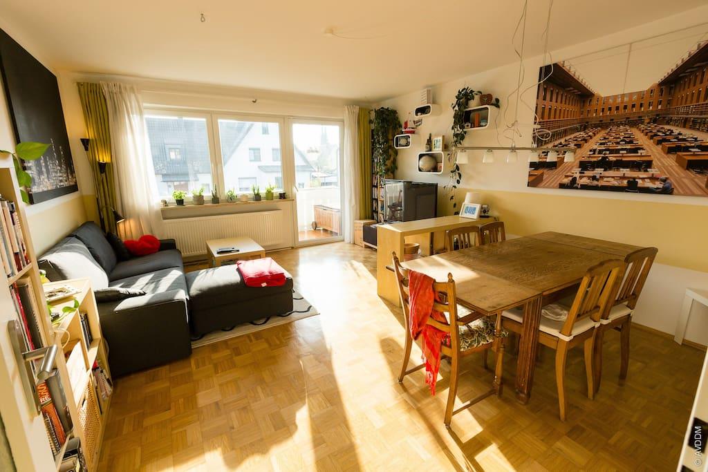 m nchen nord gro e wohnung balkon apartments zur miete in ismaning bayern deutschland. Black Bedroom Furniture Sets. Home Design Ideas