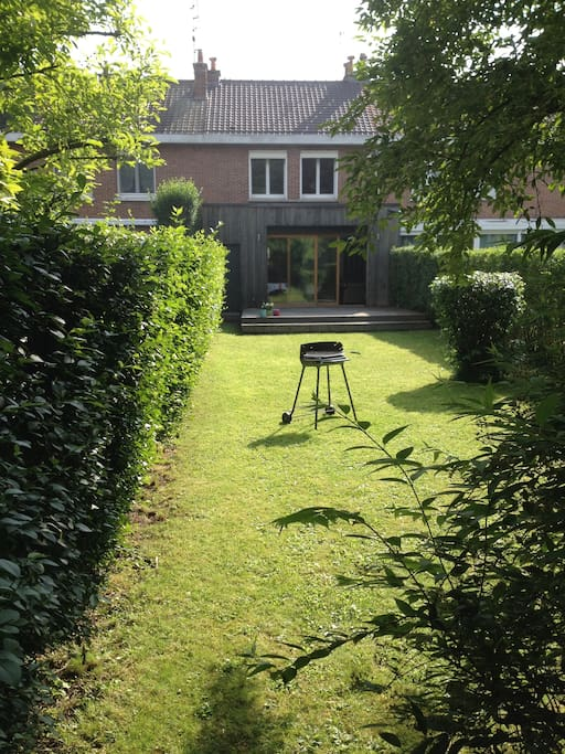 Vue du jardin.