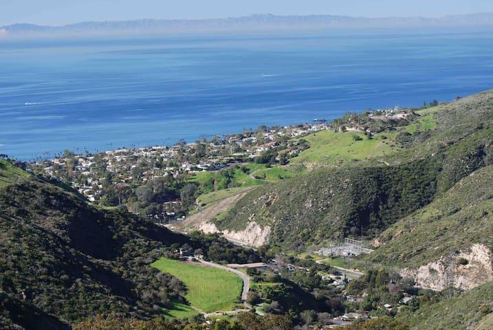 Hiking trails from Aliso Viejo to laguna Beach