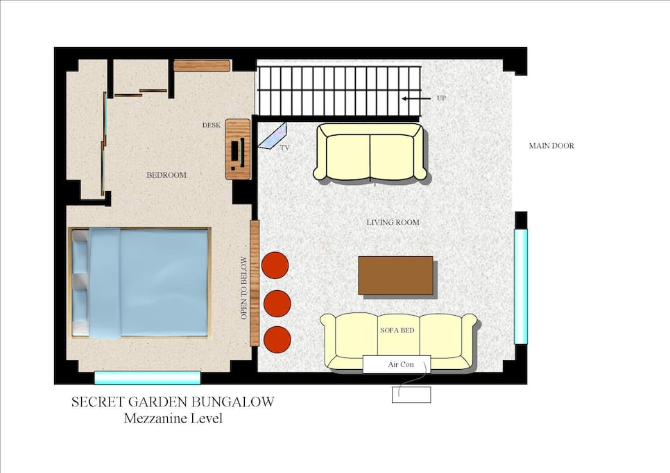 Concept design for our first bungalow. Due for completion in the new year.