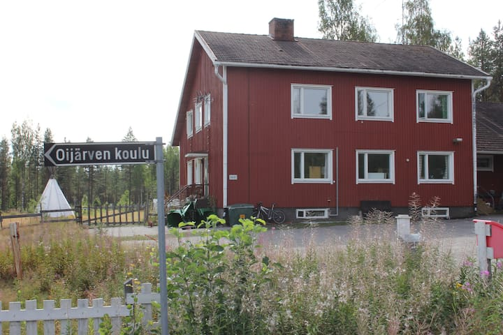 old school building ,Ii, Oijärvi - Ii
