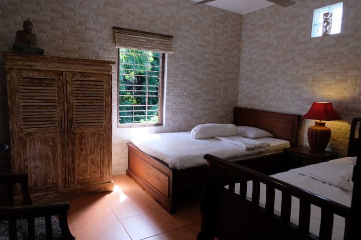 Canggu Serenity zwei Bett Room