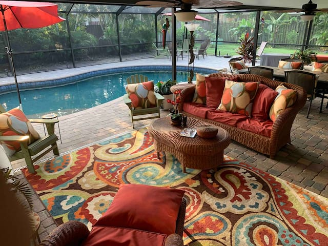 Beautiful pool home to share!
