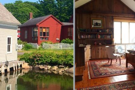 Vinalhaven Harborside-Coastal Maine Village Charm