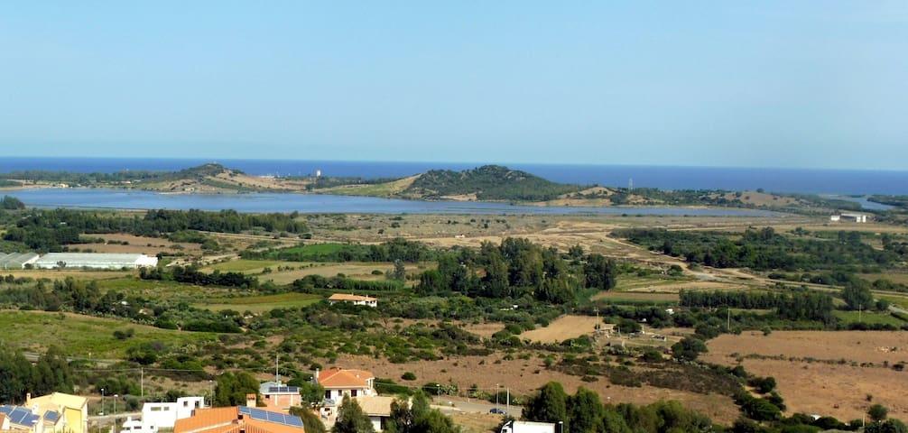 Panorama costa orientale di Villaputzu, Porto Corallo, Sa Praia,