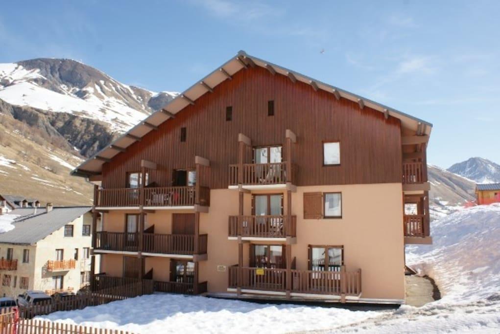 Front de neige appartement pour 4 personnes appartements - Office du tourisme saint sorlin d arves ...