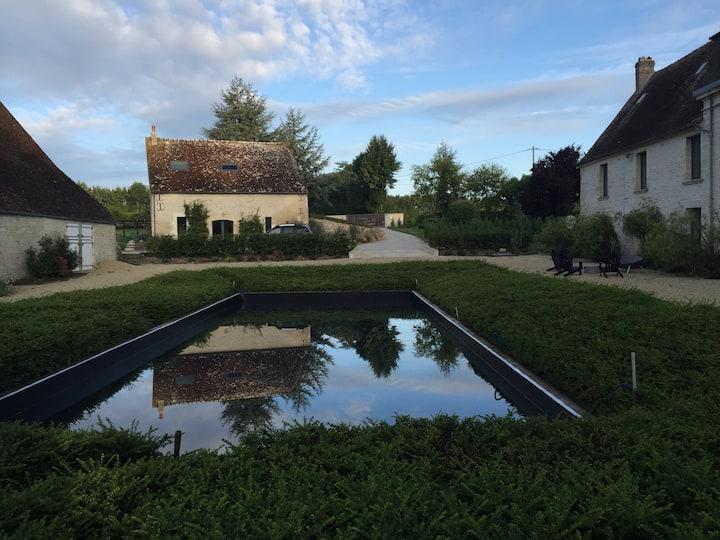 Gîte indépendant au cœur du Haras de Fontaine
