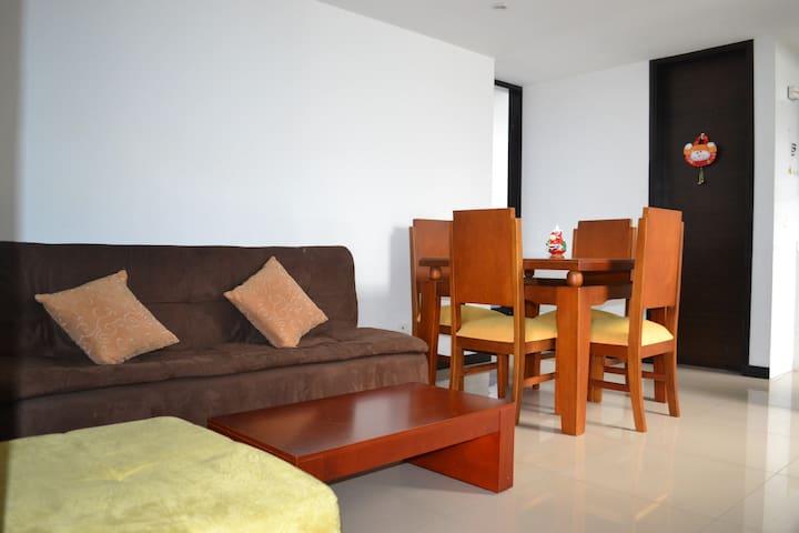 Apartamento moderno en el centro de Manizales.
