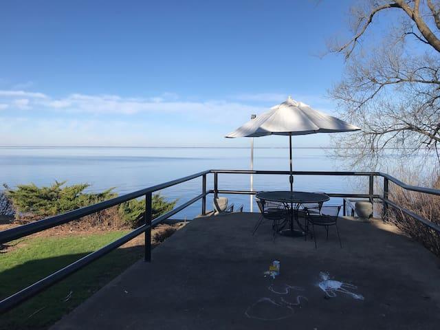 Waterfront home on Lake Winnebago