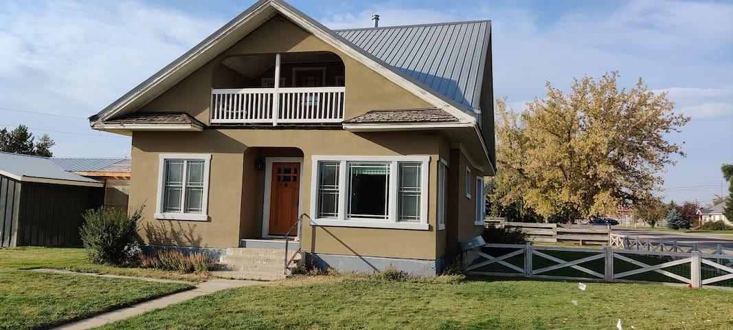 Downtown Driggs base for Yellowstone/Grand Teton