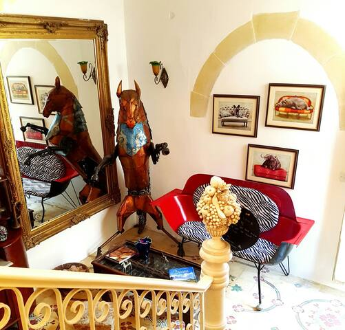 Budget double room with AC and own entrance
