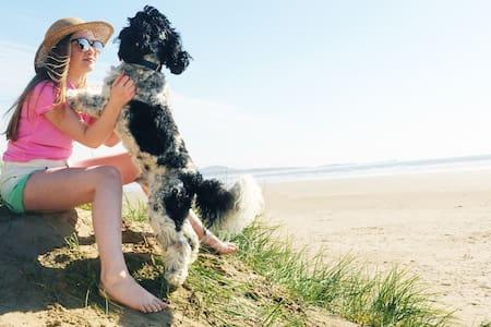 Neptune, dog-friendly beachfront holiday cottage