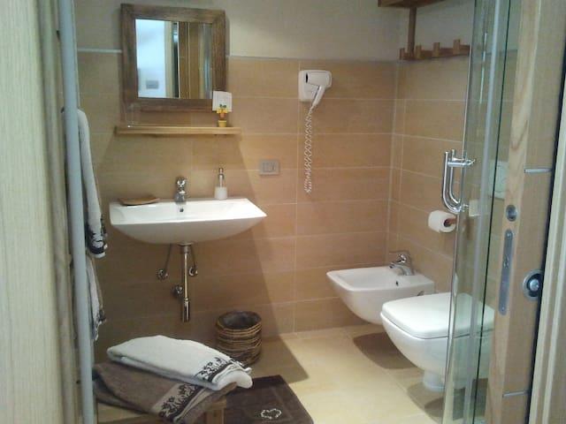 The private bathroom
