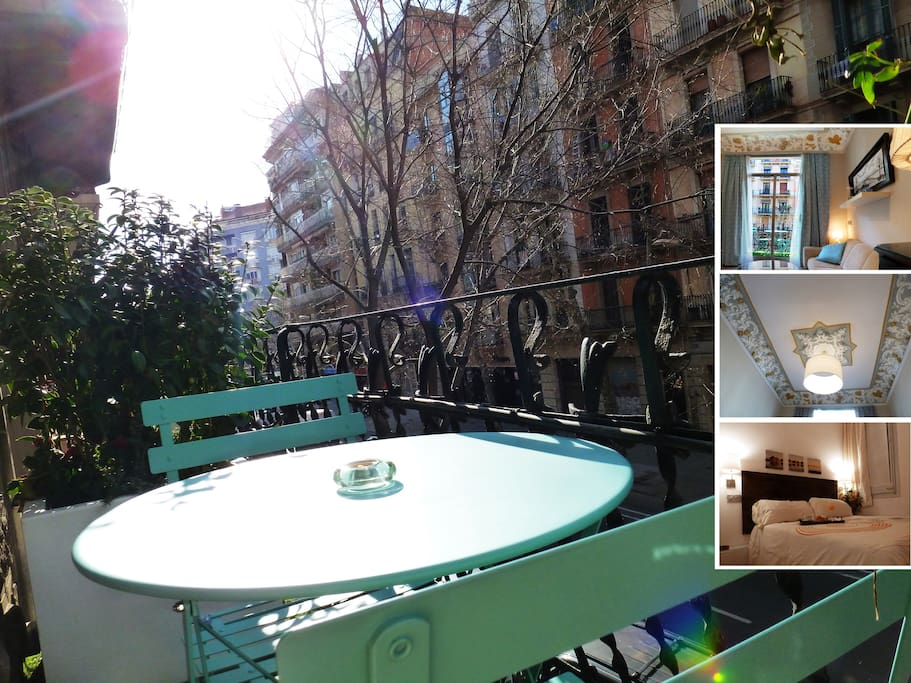 Loft City Center Vintage Ceilings Guesthouses For Rent In Barcelona Catalunya Spain